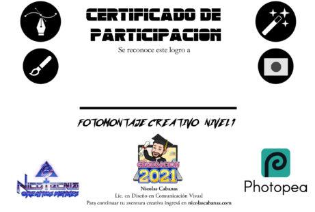 diploma nicotecnia fotomontaje creativo